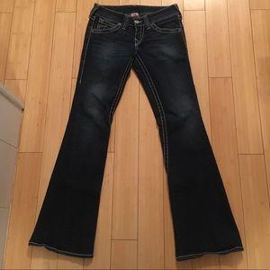 Women's True Religion W28/L33.5 jeans bootcut